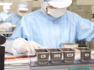 厳しい品質管理基準を満たしたGMP認定工場で製造