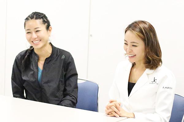 医師の黒田愛実先生と「美コア」考案者の山口絵里加さんにインタビュー